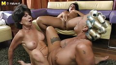 Old Lesbian Grannies Eating Pussy Of Young Girl