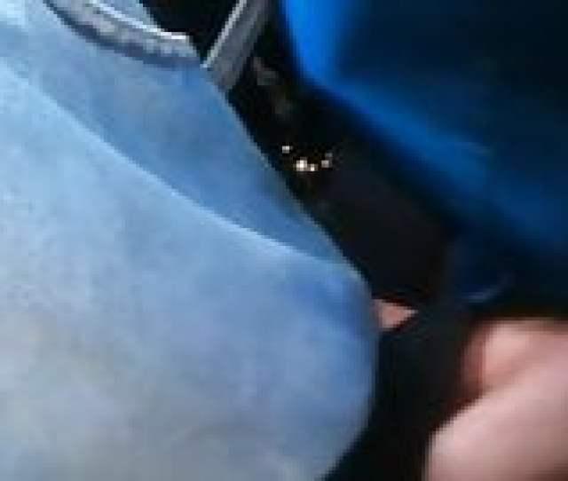 Grabbing His Bulge In The Metro