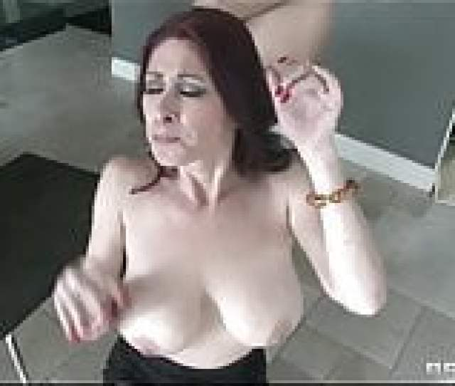Real Estate Agent With Huge Natural Tits Is Fucked