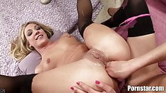 Lots Of Ass Licking And Anal Use In This Threesome