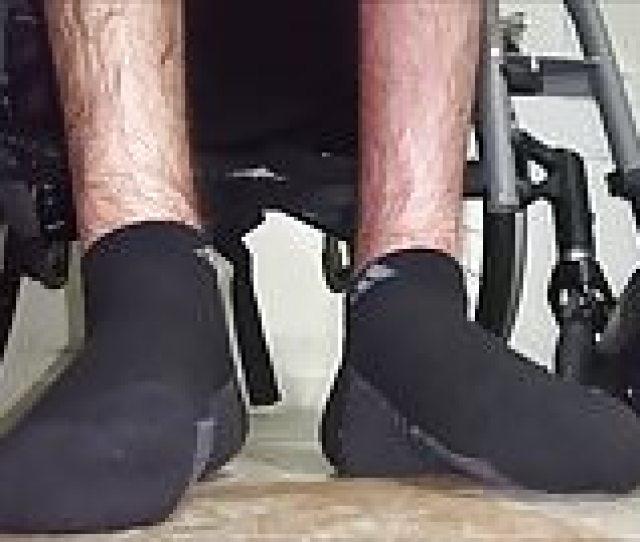 My Paraplegic Feet With Socks