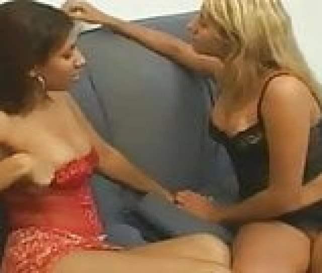 Brazilian Lesbian Kissing