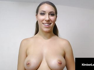 Slutty Pupil Kimber Lee Slurps On Your Pulsating Penis!