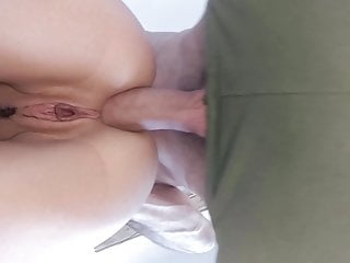 So many ass orgasms! Numerous grool drips from my 18yo slit