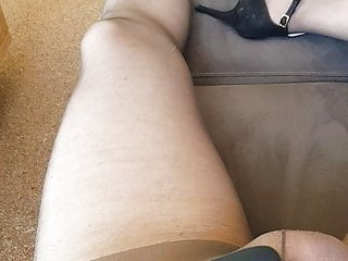 cum in my pantyhose and heels