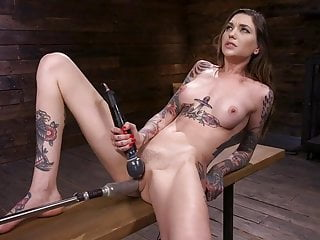 ROCKY EMERSON GETS FUCKED BY THE MACHINES AND HAS NONSTOP OR