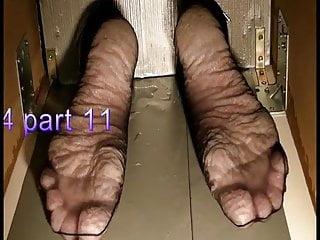 Bianca's wet feet torture 2014 part 11