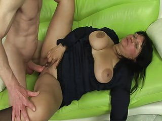 Her feeble pussy may be very slippery!