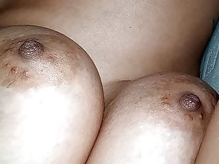 Lover's enormous boobs