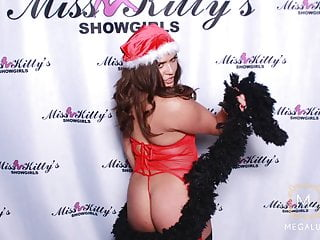 Celebration whore in stockings and thong