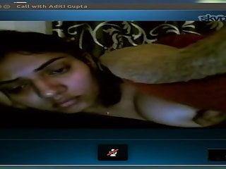 My GF on Skype
