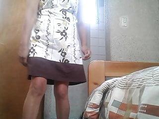 Stepmom Upskirt Caught by Hidden Digital camera