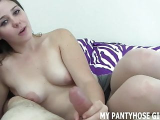 I'll chats you thru jerking it in my pantyhose Jerk Off Instructions