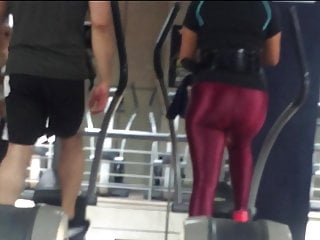 Great butt understanding, phat ass shifting in spandex