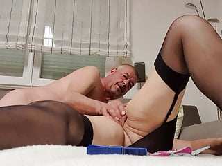 She loves clamps on her pussy