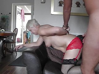 Granny gets used by a much younger man