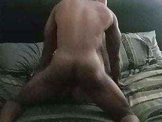 big black cock stops by after work to destress with my wifes blistering slit!