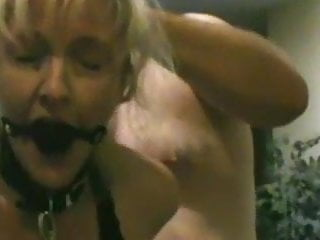Compelled Squirt with Ball Gag