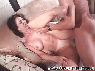 Cuckold Archive Feeble sissy husband has his lover fucking 2