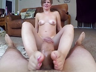 Sucking and Stroking Dick Cum on Ft