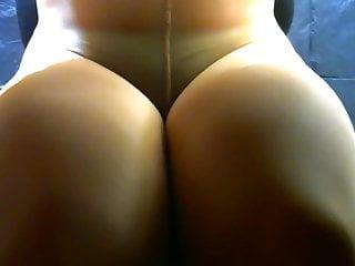 crossdresser pantyhose and inexperienced panties 005