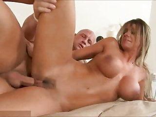 Busty horny mom like intercourse  – Compilation