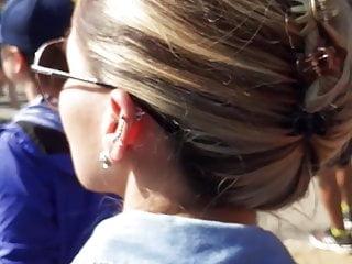 Encoxada arrimon blondie 1