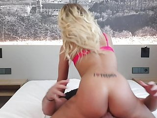 Fucking a In need of sex Blonde Slut in Resort
