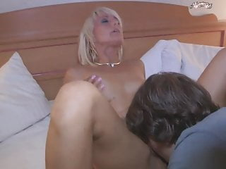 First Intercourse for Younger Boy with Boiling hot Milf
