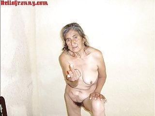 HelloGrannY Home made Latin Granny Slideshow Pics