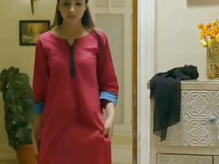Indian Maid undressing-3