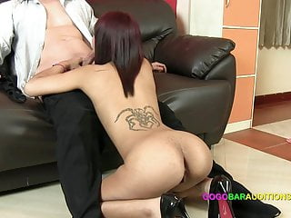 Casting couch tricked into sex for job