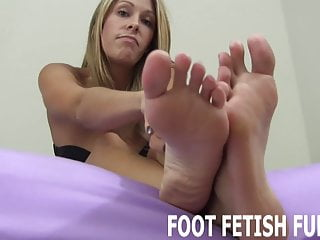I have decided to let you play with my feet