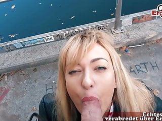 German prostitute Petite Milf meet Consumer for EroCom Date POV