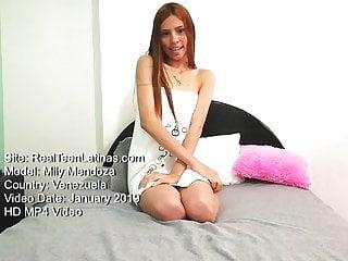 Mily Mendoza for RealTeenLatinas Delicious Venezuelan girl