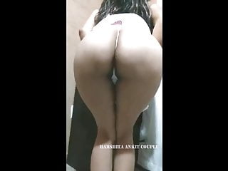 Harshita desi indian wife  ass teasing lifting skirt teasing