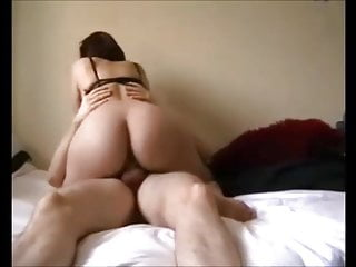 Beginner curvy British fucked at house