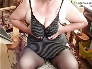 Granny  teasing