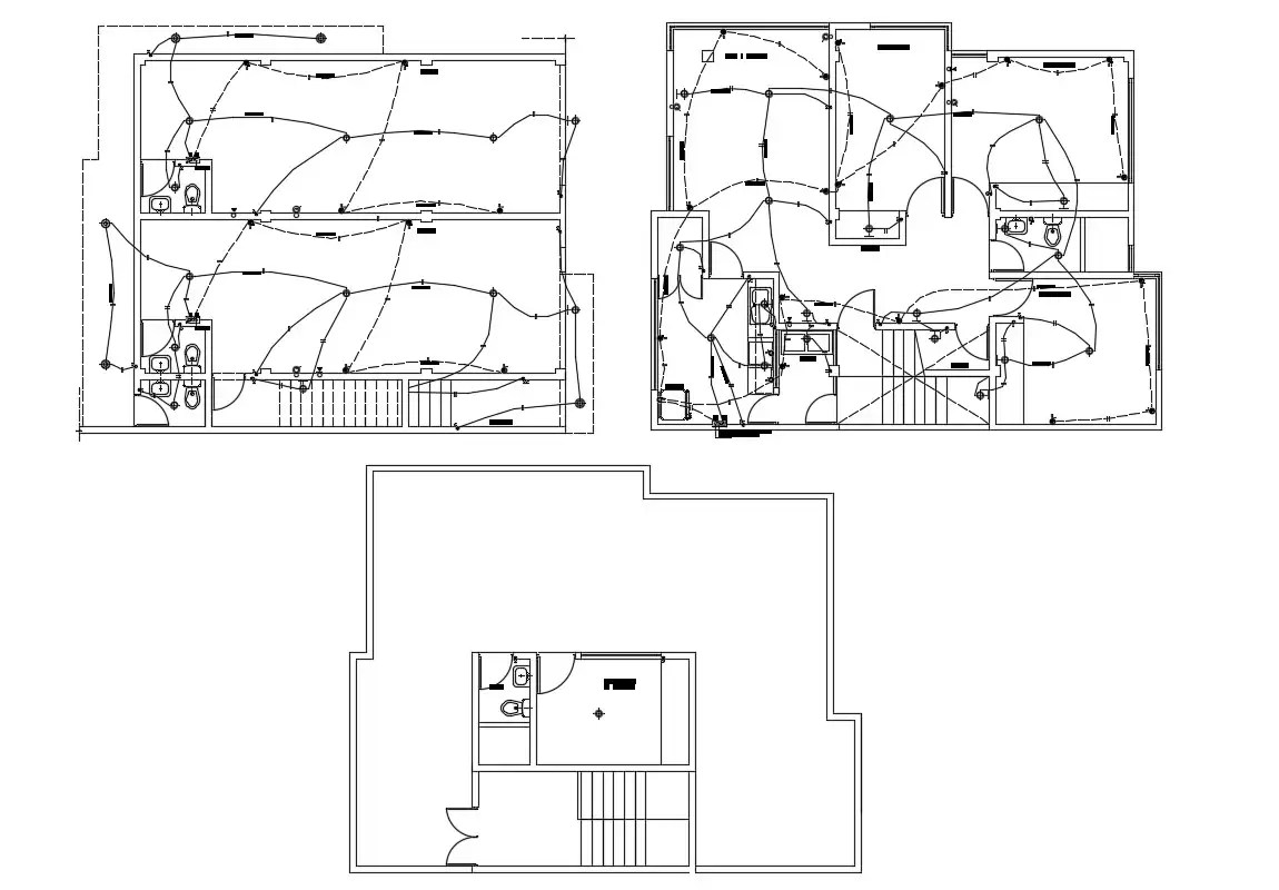 Cad Drawings Details Of House Electrical Light Fitting Dwg