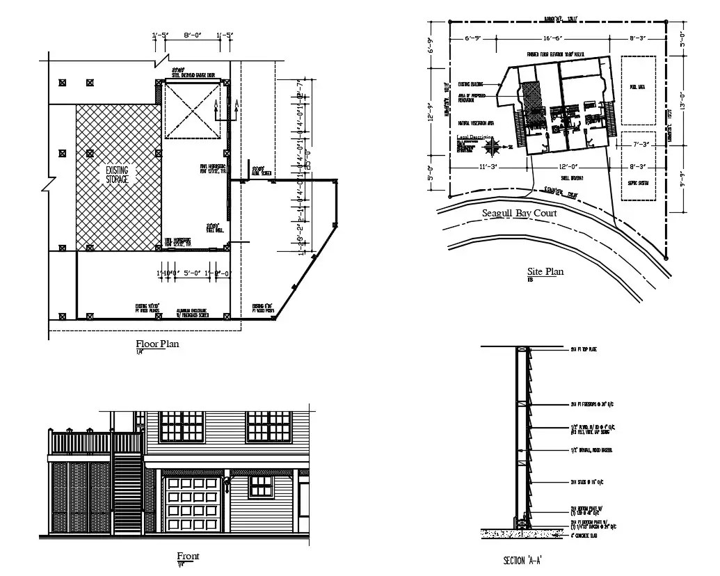 Download Free House Plan Cad File