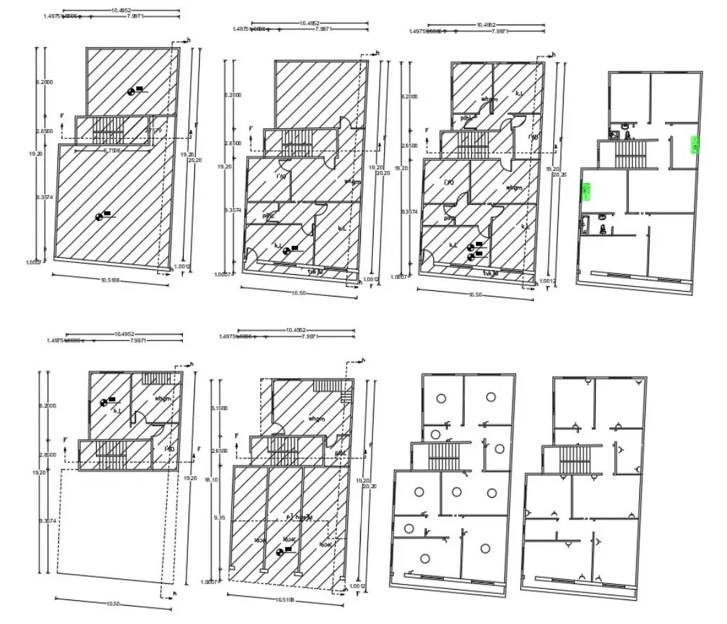 House Floor Plan With Electrical Layout Cad Drawing