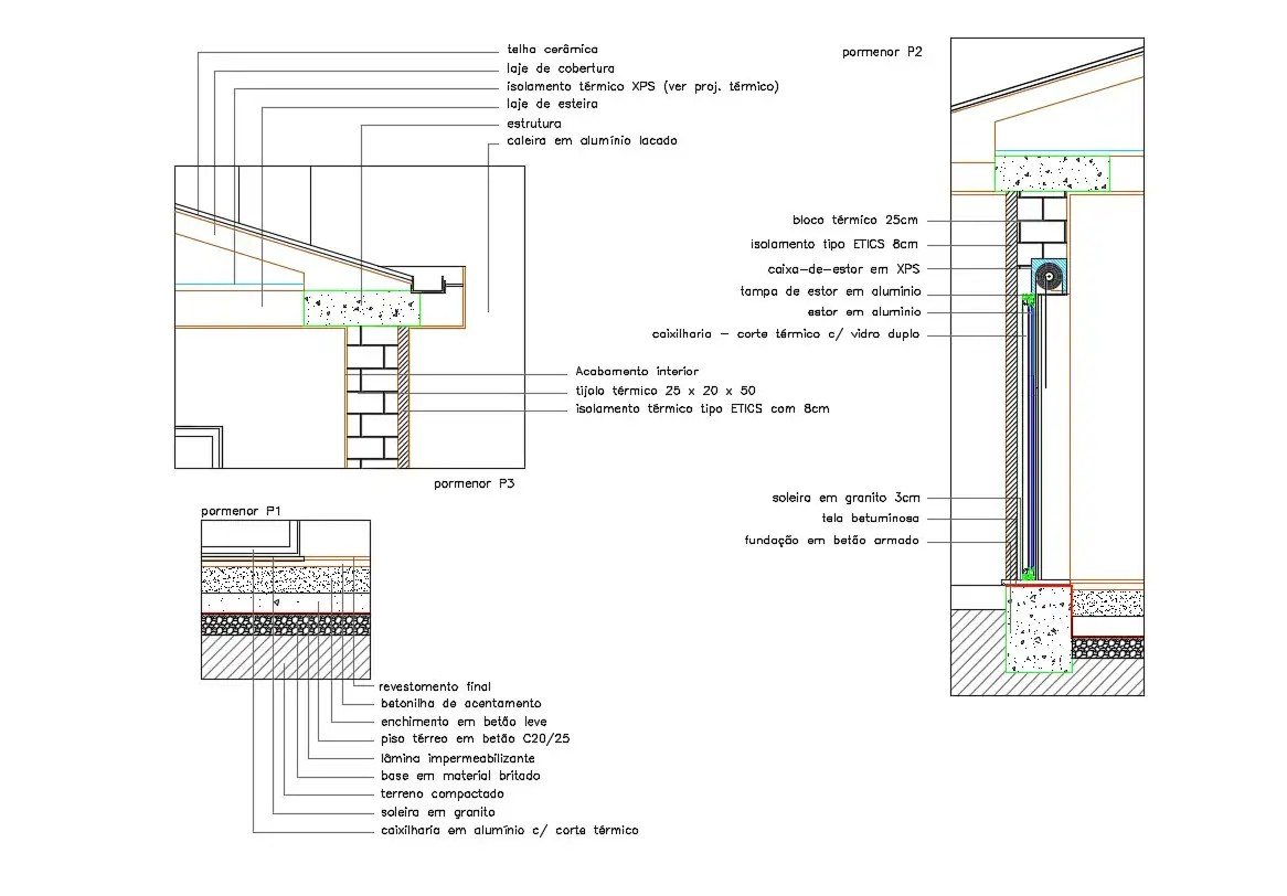 Wall Joint Section Drawing Free Dwg Download