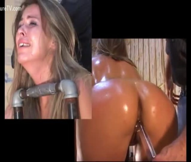 Stunning Teen In Bdsm Oiled Up By Her Dominant Partner And Explored Luxuretv