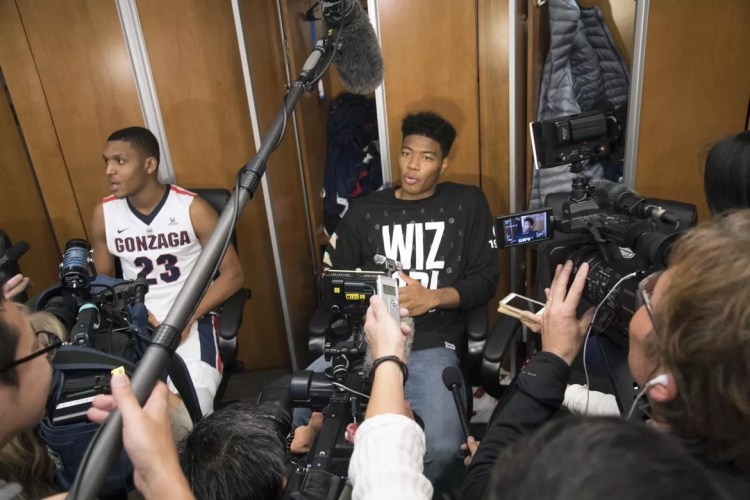 Who is Rui? How an uncatchable fastball turned Gonzaga's ...