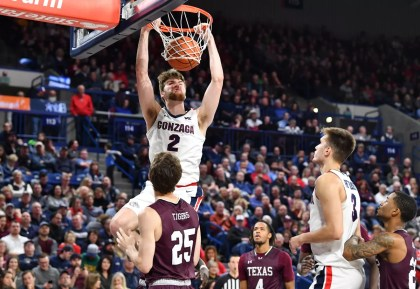 Drew Timme ready for challenges that come with Gonzaga's preseason hype   The Spokesman-Review