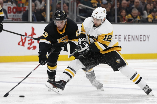 Pittsburgh Penguins vs. Boston Bruins - 1/19/20 NHL Pick, Odds, and  Prediction - PickDawgz