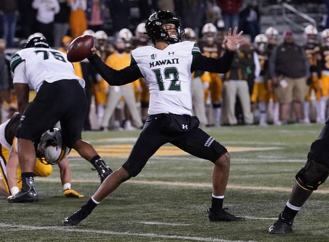 MWC Picks: Hawaii vs Boise State 11/21/20 College Football Picks, Odds, Predictions