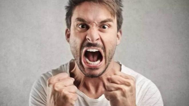 Ilustrasi marah.