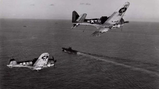 VIVA Militer: Pesawat Tempur AS, Douglas SBD Dauntless di Perang Pasifik