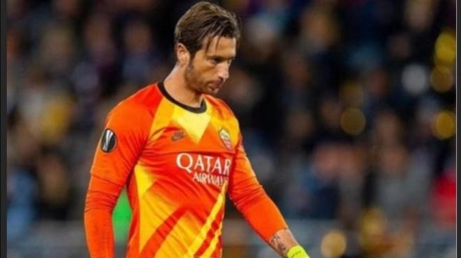Mantan kiper AS Roma, Antonio Mirante.